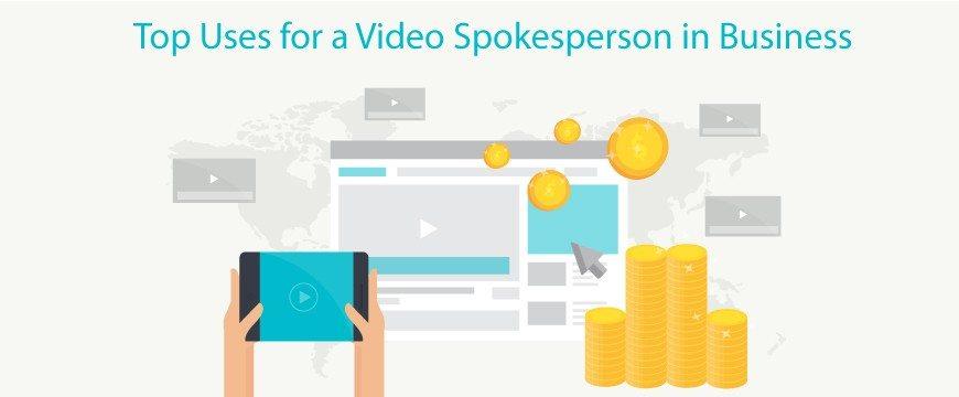 video spokesperson in business